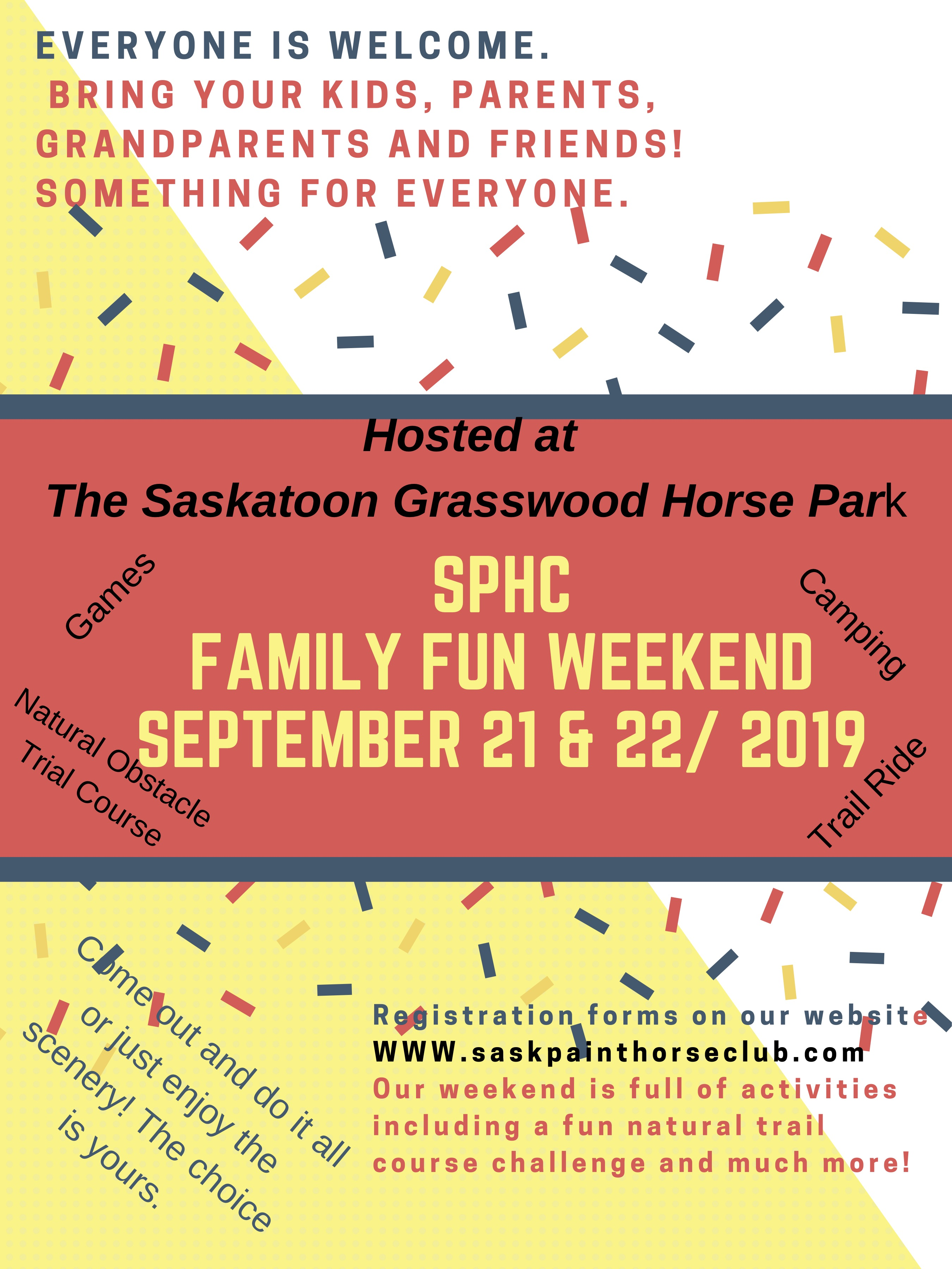 SPHC FAMILY FUN DAY | RESCHEDULED